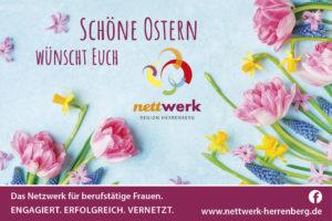 Das Nettwerk Herrenberg wünscht frohe Ostern